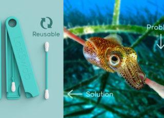 LastSwab: il cotton fioc riutilizzabile amico dei pesci