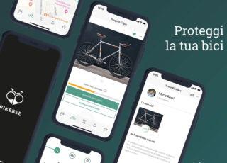 Arriva Bikebee, la nuova piattaforma smart per la sicurezza delle biciclette