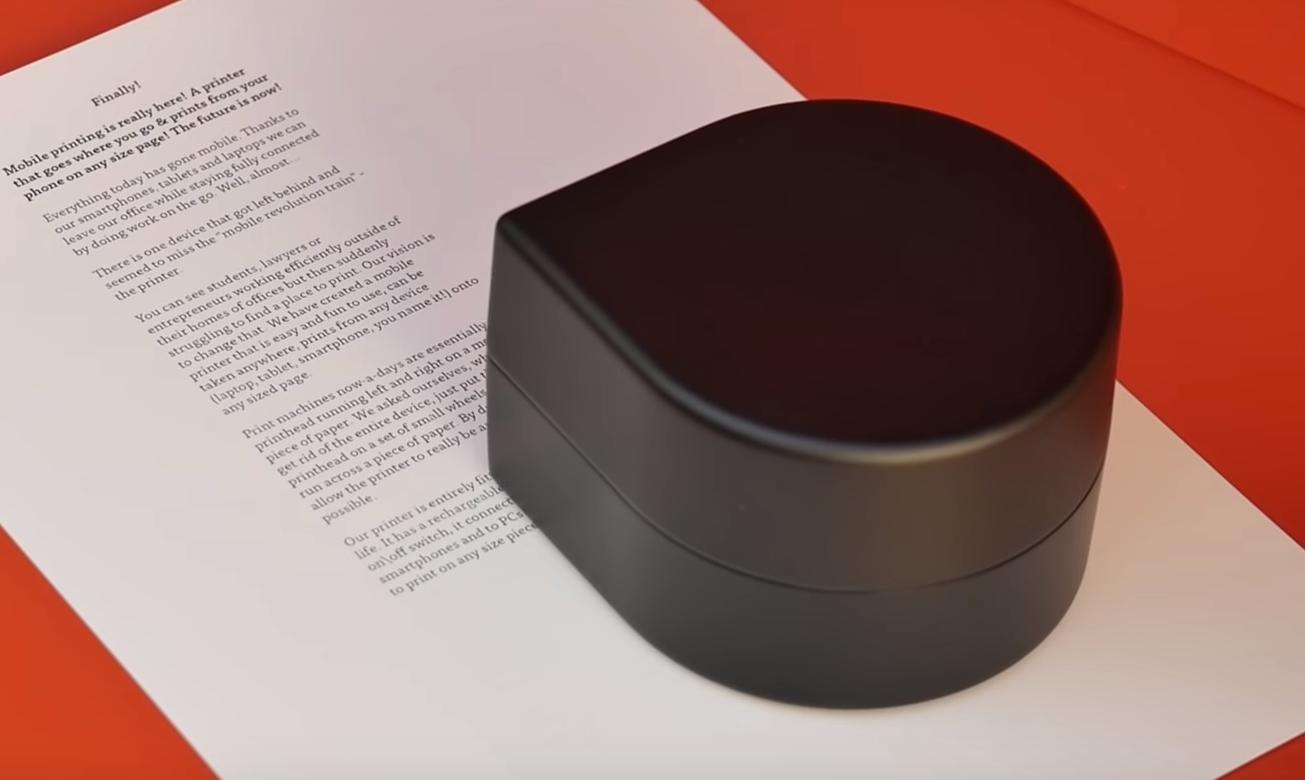 Zuta Pocket printer