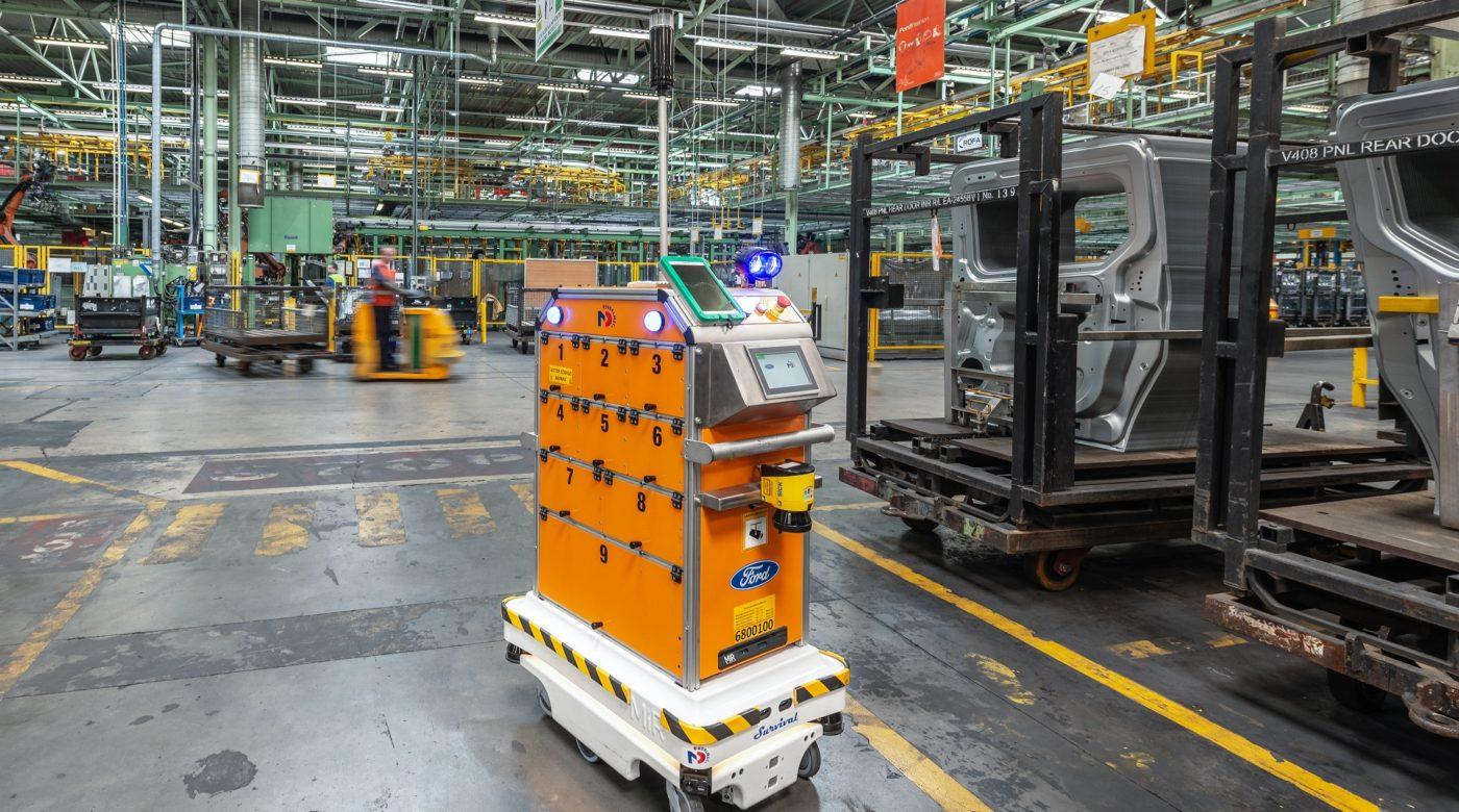 robot mobili autonomi