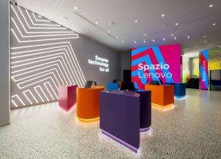 Lenovo inaugura a Milano il primo concept Store