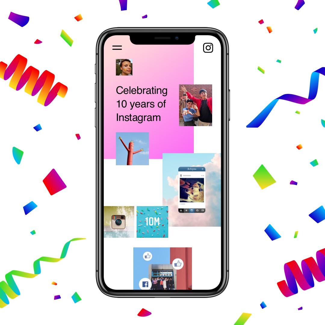 Instagram compie 10 anni