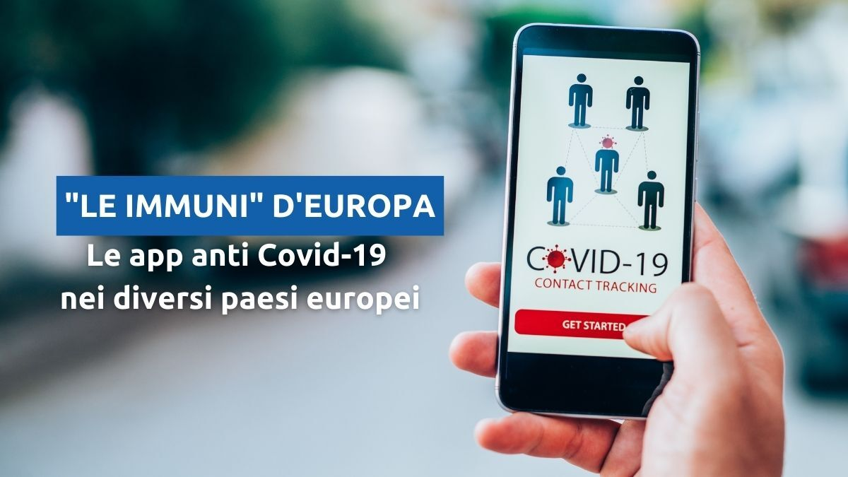 App contact tracking in Europa