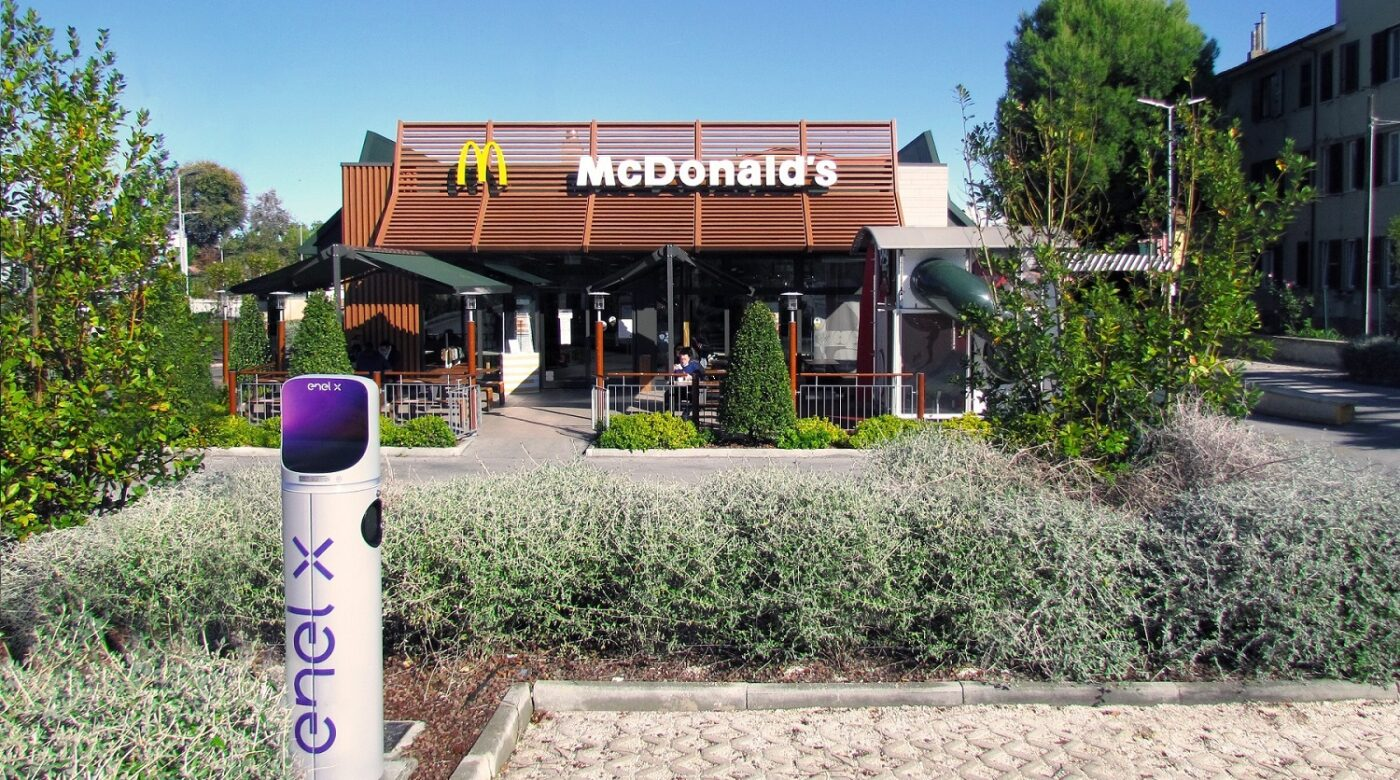 Partnership McDonald's Enel X