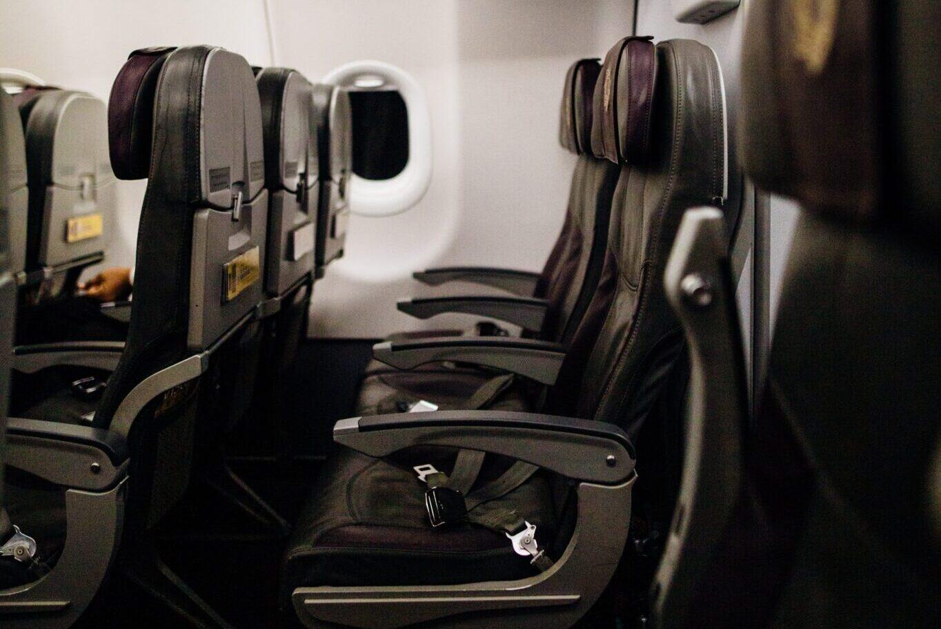 Sedili aerei green