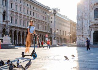 Arrivano a Milano i monopattini elettrici e-Kick di Swapfiets