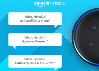 Arrivano i podcast su Amazon Prime Music