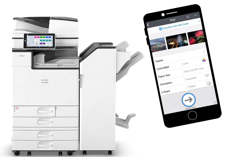 NOA app stampanti multifunzione