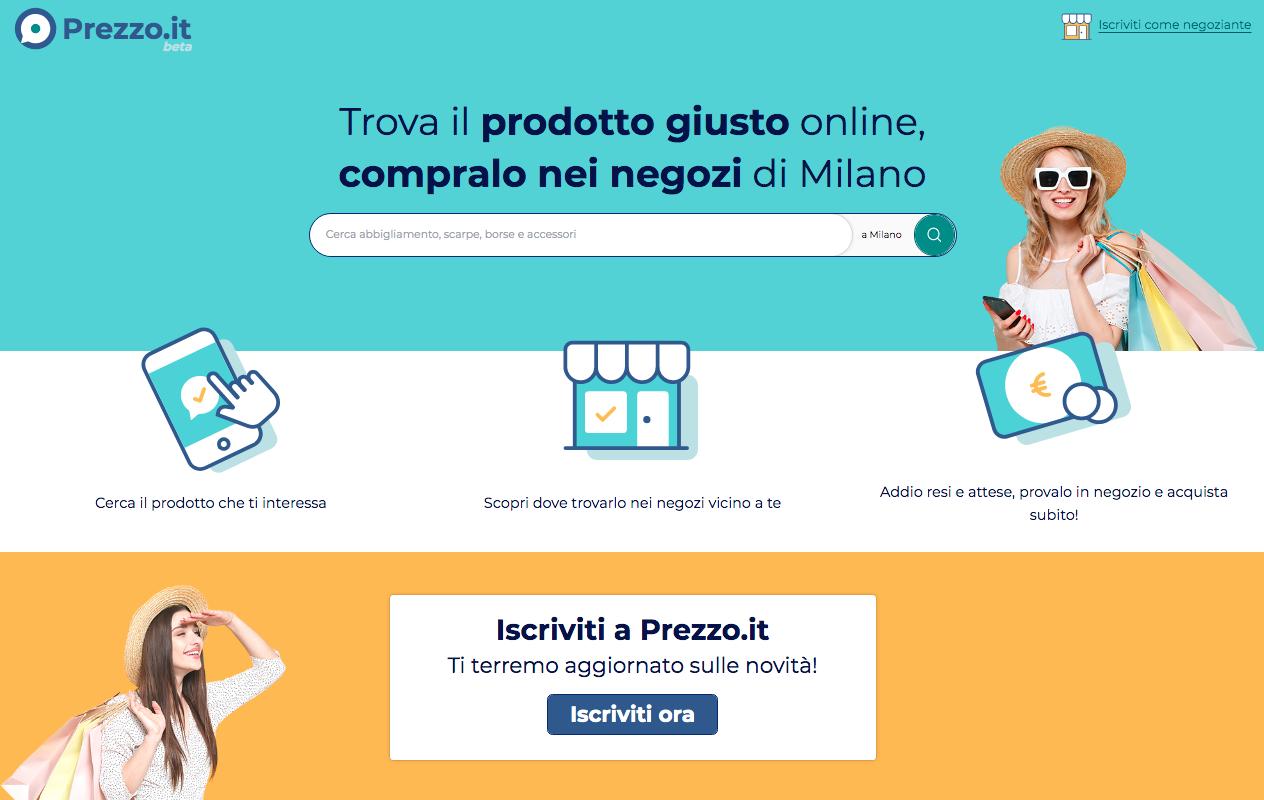 Prezzo.it piattaforma